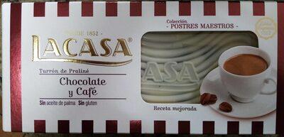 Turrón de chocolate y cafe - Producto