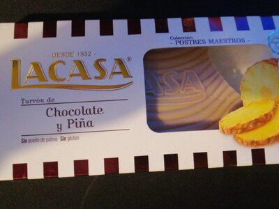 Chocolat saveur ananas - Produit - fr