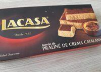 Turrón de praliné crema catalana - Produit