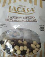 Cacahuete tostado chocolate negro y blanco - Producto - es