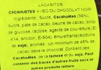 Lacasitos - Ingredients