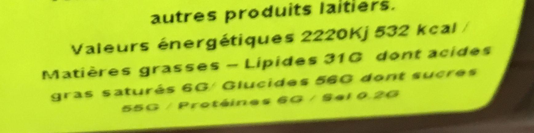 Lacasitos - Nutrition facts