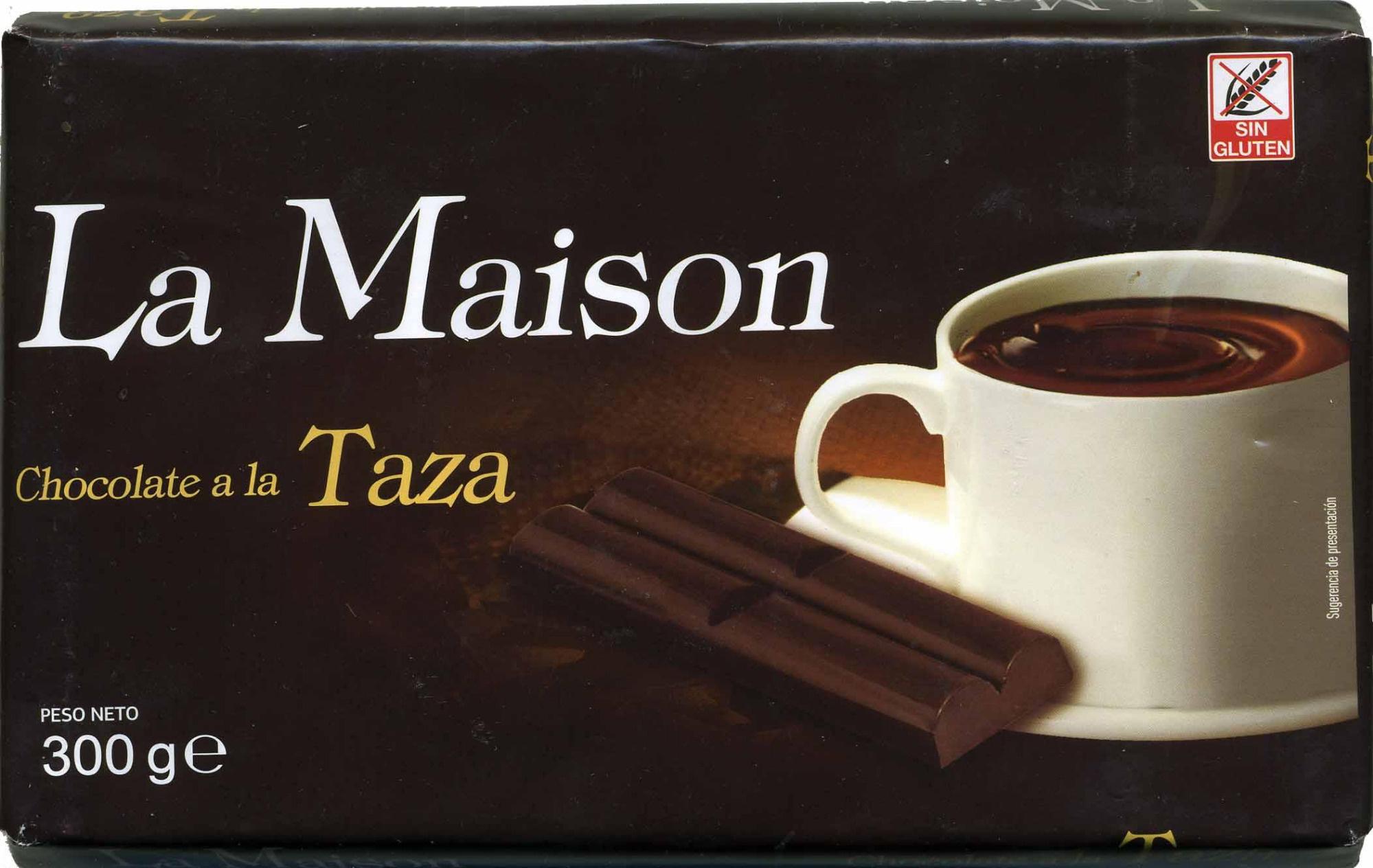 Tableta de chocolate negro a la taza 35% cacao - Producto