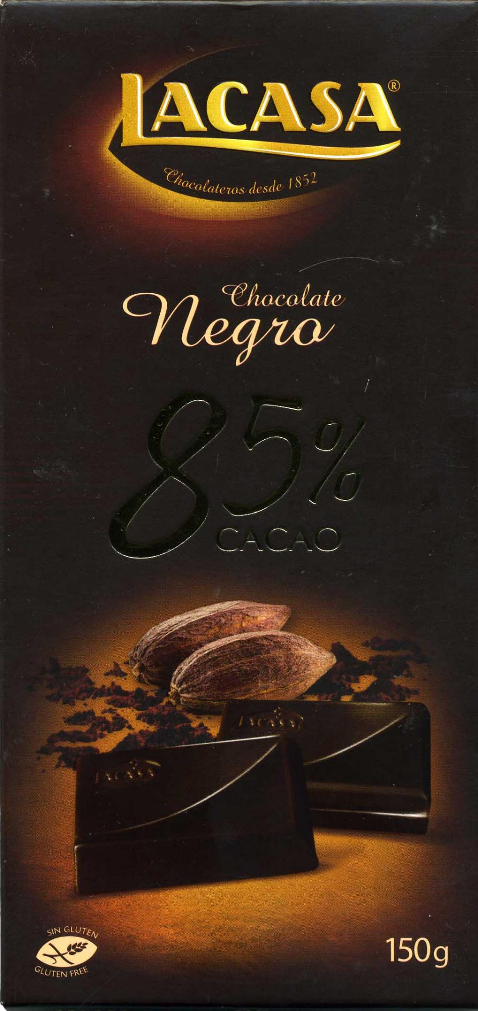 Chocolat noir 85% - Producto