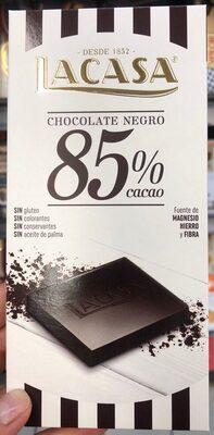 La casa. Chocolate negro 85%