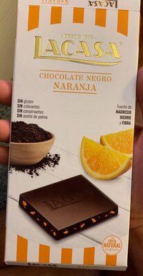 Chocolate negro Naranja