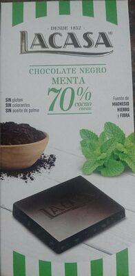 Chocolate negro menta 70%