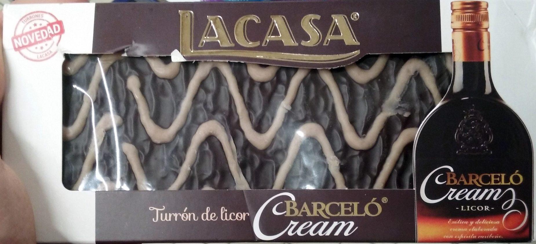 Turron de Licor Barceló Cream - Produit - fr