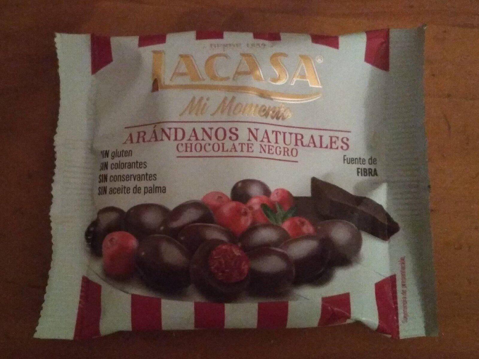 Arándanos Naturales Chocolate Negro - Prodotto - es