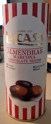 Almendras marcona chocolate negro