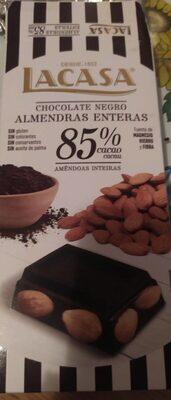Chocolate negro almendras enteras 85% - Producte - es