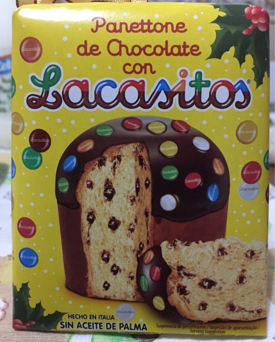 Panettone de chocolate con lacasitos - Product