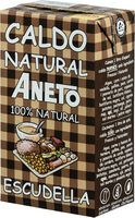 Caldo escudella 100% natural envase 1 l - Producto - es
