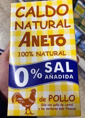 Caldo natural - Producto