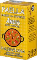 Caldo para paella valenciana 100% natural envase 1 l - Produit - es