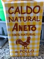 Caldo natural Aneto Pollo Brick - Producte