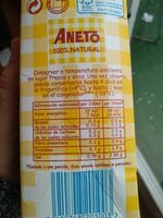 Caldo Natural Aneto de Pollo - Nutrition facts - es