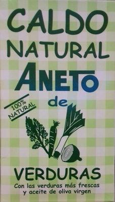 Caldo natural de verduras - Producto