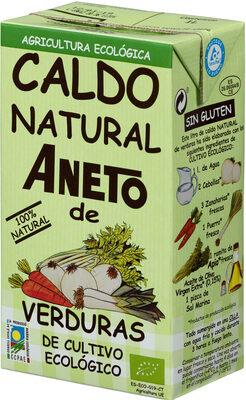 Caldo Natural Aneto de Verduras de Cultivo Ecológico - Producte - fr
