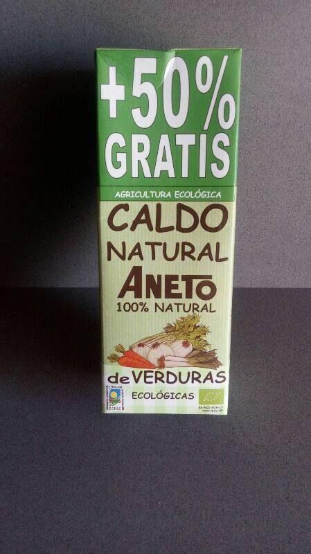 Caldo natural de verduras ecológicas - Producte