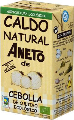 Caldo de cebolla de cultivo ecológico 100% natural envase 1 l - Producto