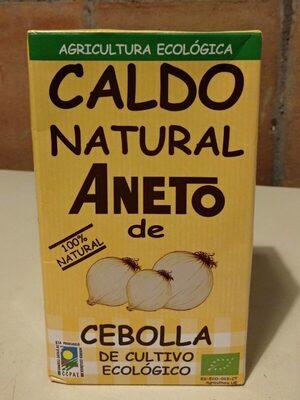 Caldo natural de cebolla