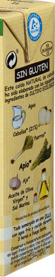 Caldo de cebolla de cultivo ecológico 100% natural envase 1 l - Ingredientes