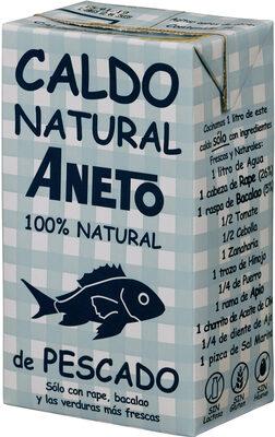 Caldo Natural Aneto de Pescado - Producte