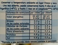 Caldo Natural Aneto de Pescado - Voedingswaarden - es