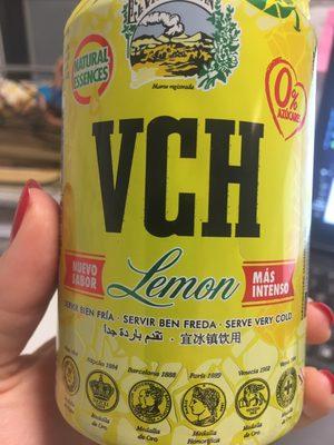 Agua mineral natural con gas sabor limón - Producto