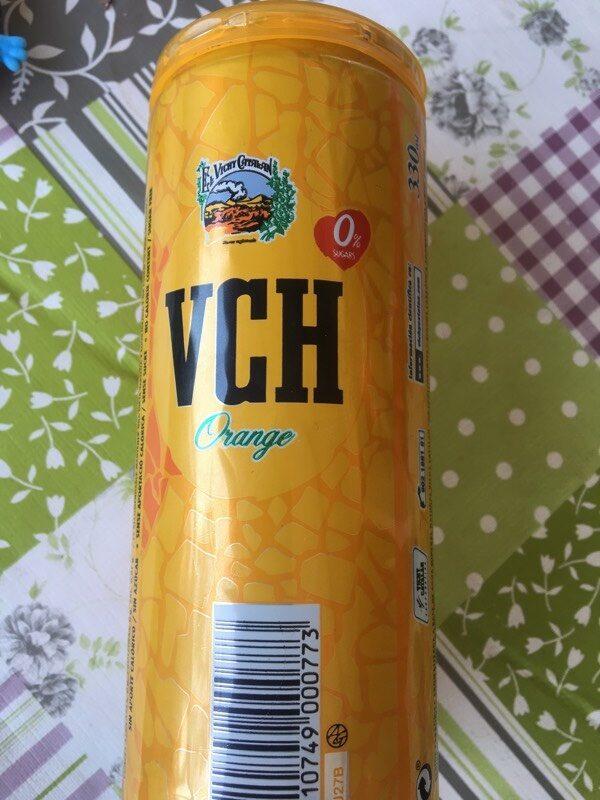 Agua mineral natural con gas sabor naranja - Producto - es