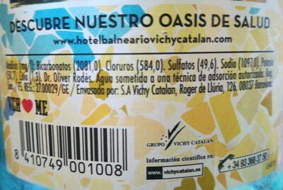 Vichy catalan - Información nutricional - fr