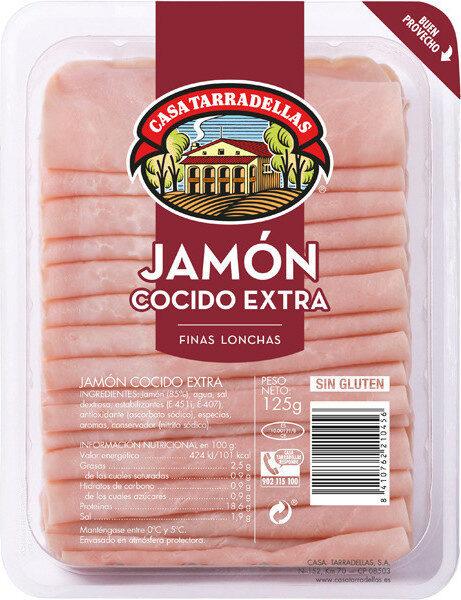 Jamón cocido extra - Producte - es
