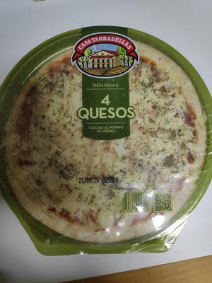 Pizza 4 quesos - Producte