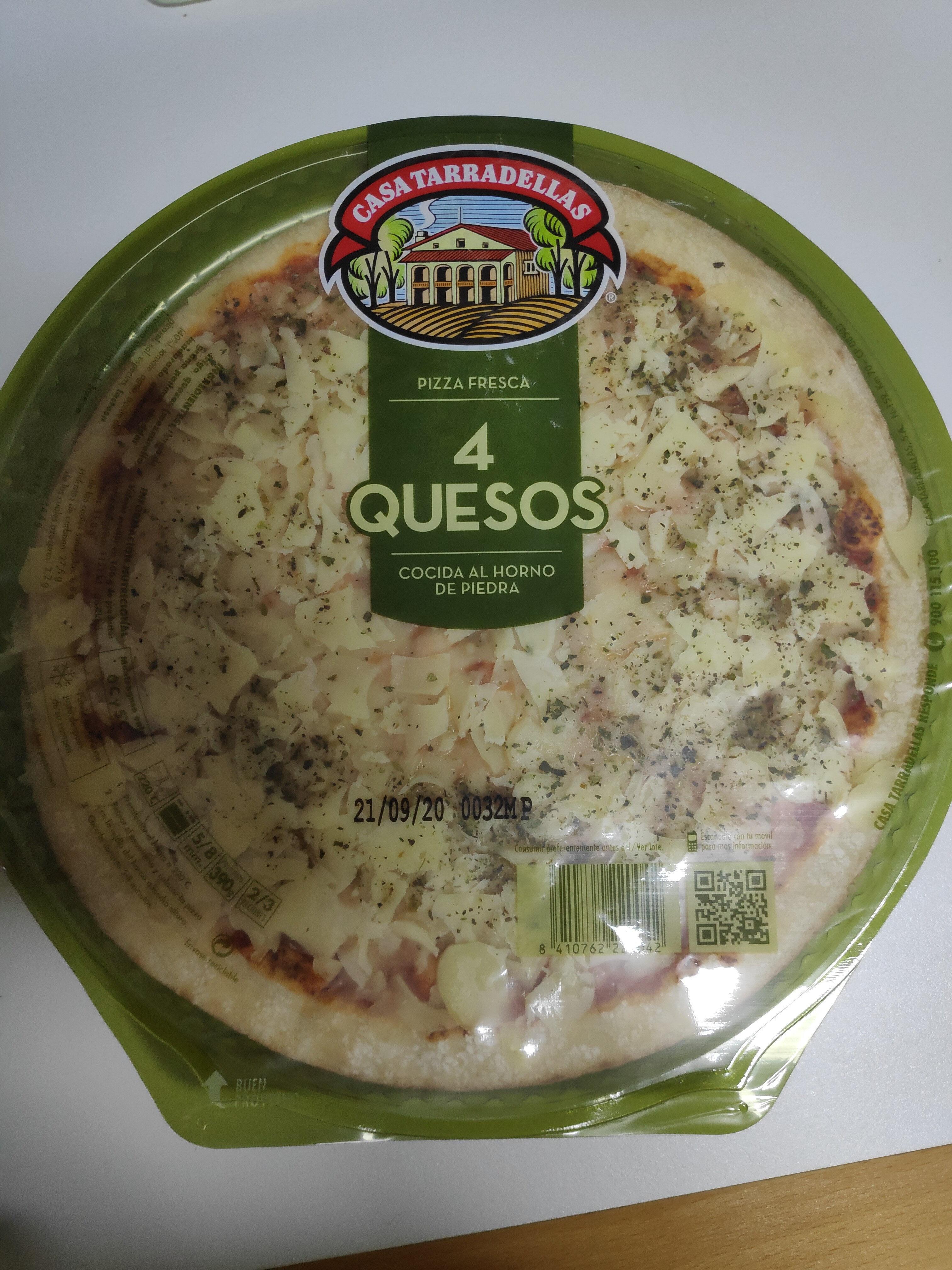 Pizza 4 quesos - Product - es