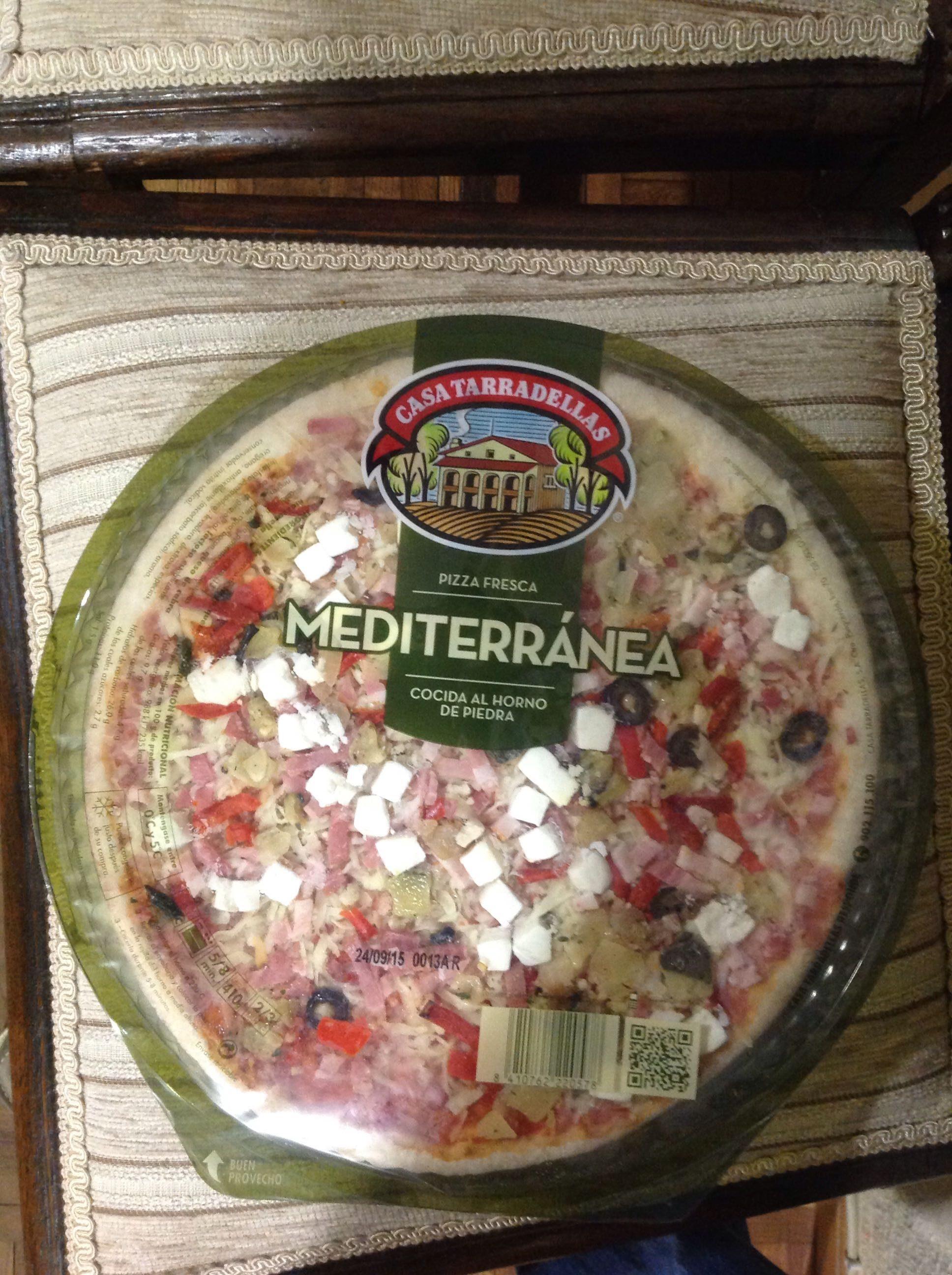 Pizza mediterránea - Product - es