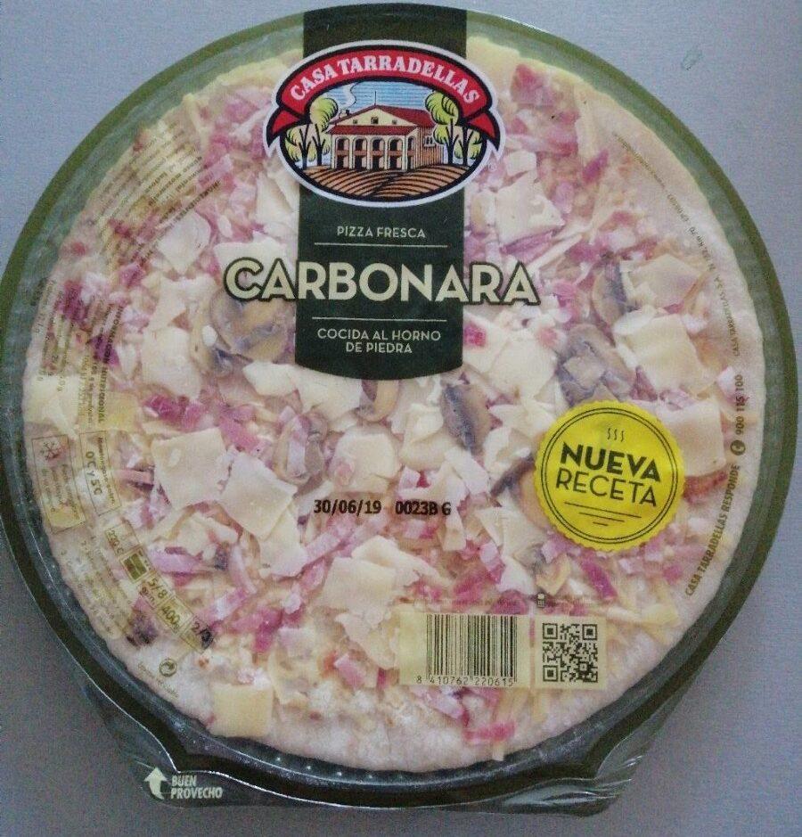 Pizza carbonara - Produit - fr