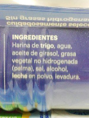 Masa de Hojaldre - Ingredients - es