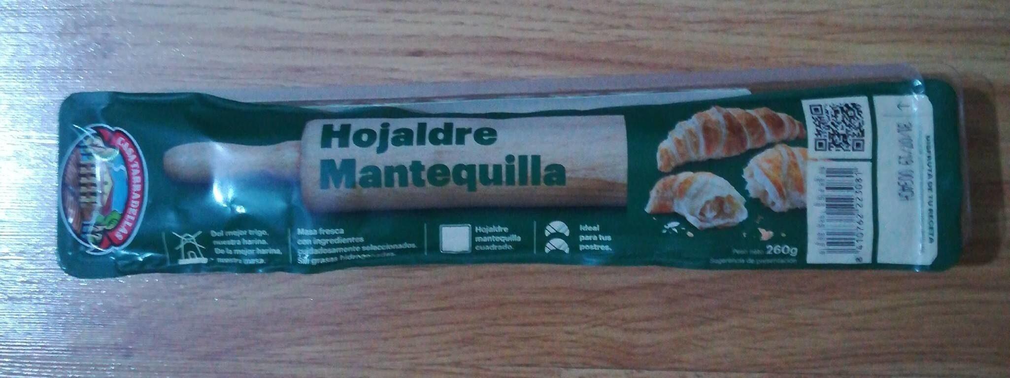 Masa hojaldre mantequilla - Producte