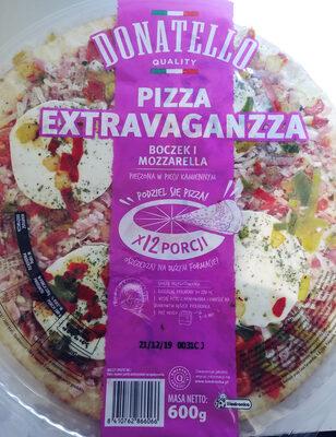 Pizza z boczkiem i serem mozzarella - Product - pl