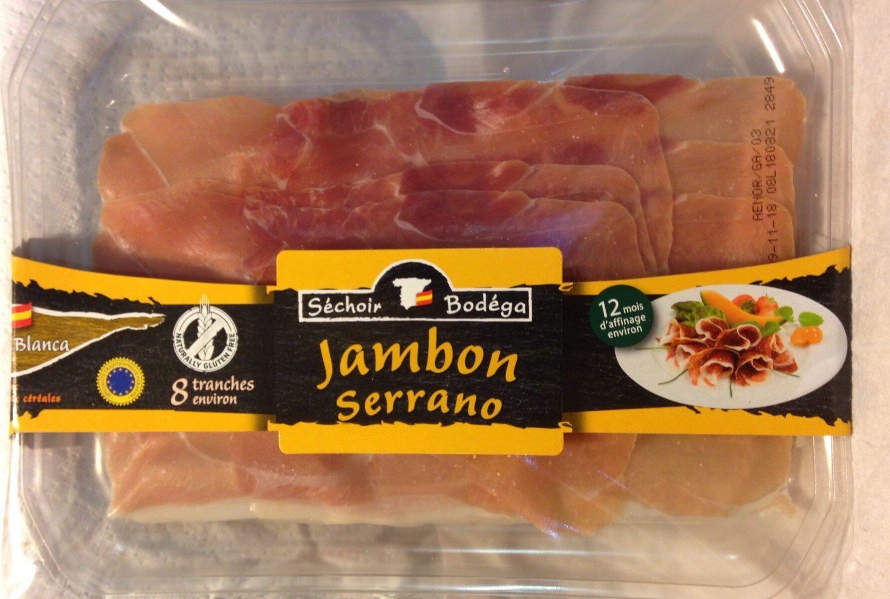 Jambon serrano - Produit - fr