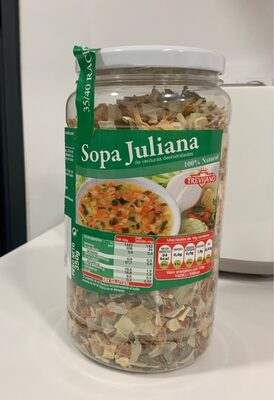 Sopa Juliana - Producto