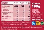 Sopa campesina - Información nutricional - es