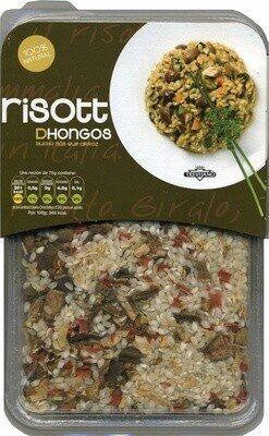 Risotto de hongos - Produit - es