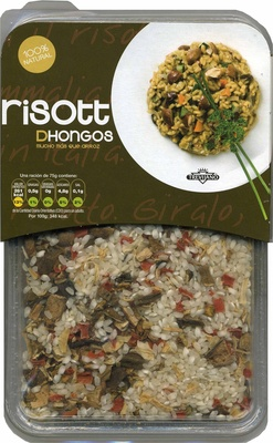 Risotto de hongos - Product