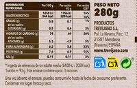 Risotto de hongos - Informations nutritionnelles - es