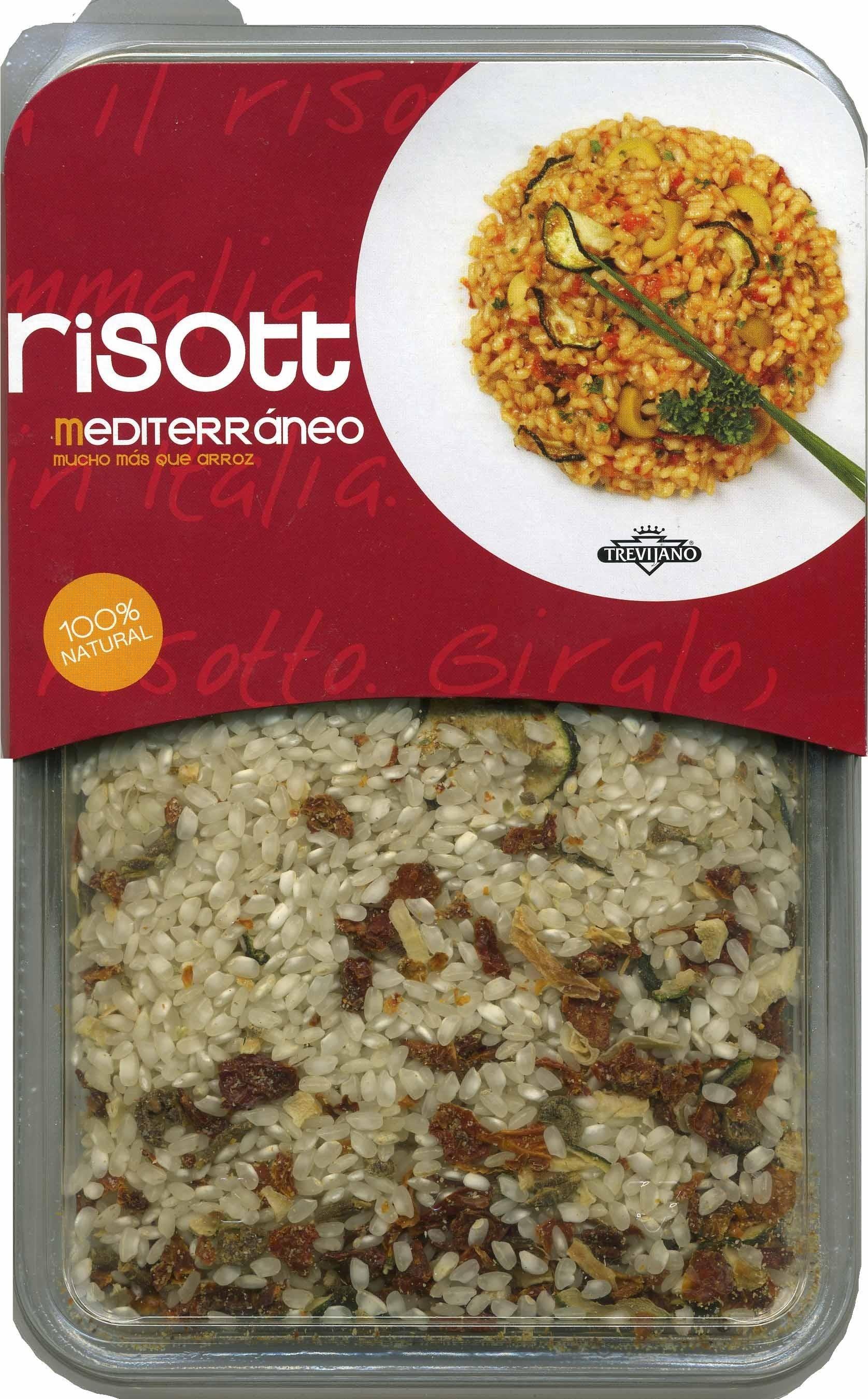Trevijano, mediterranean risotto - Product