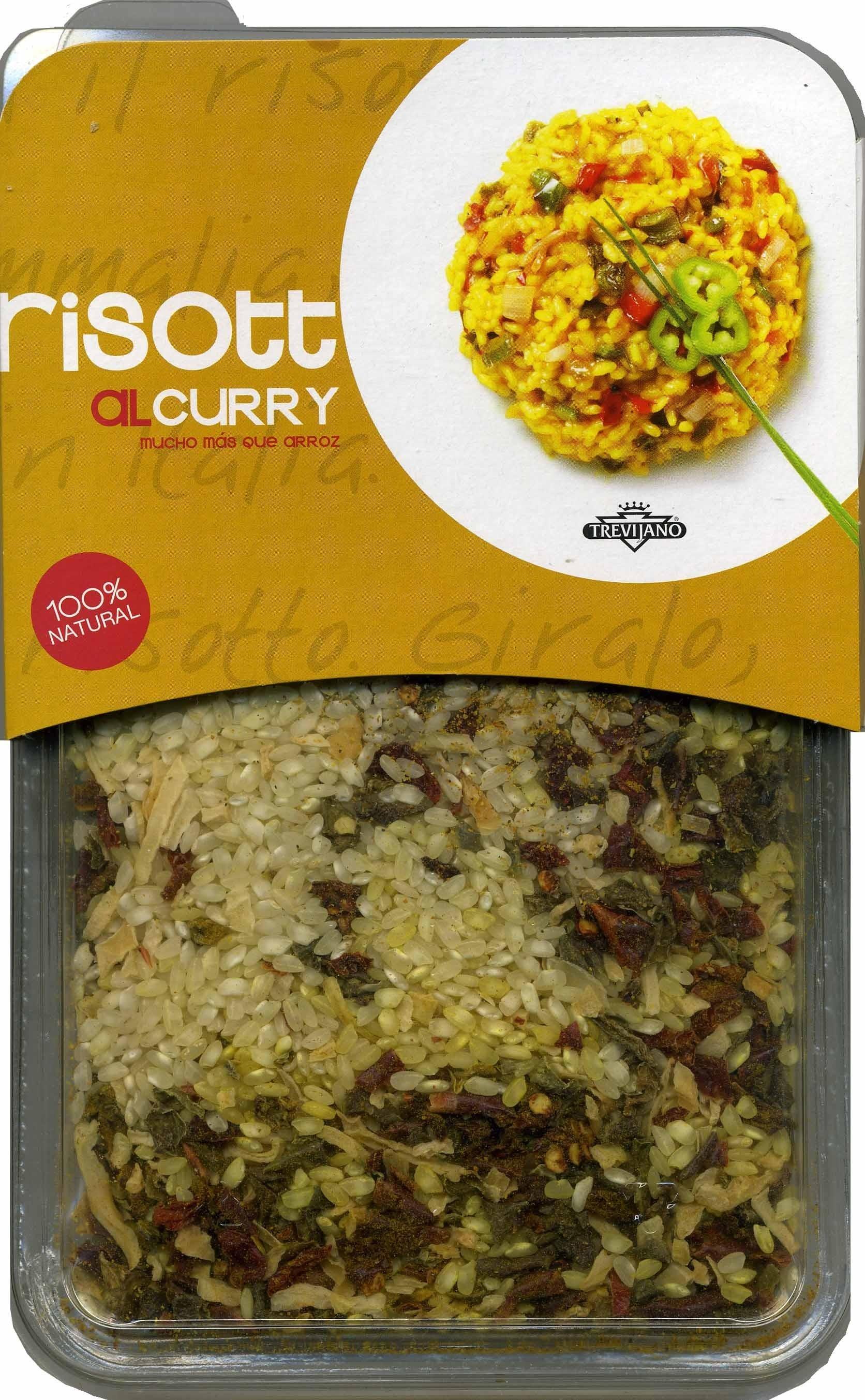 Risotto al curry - Producto