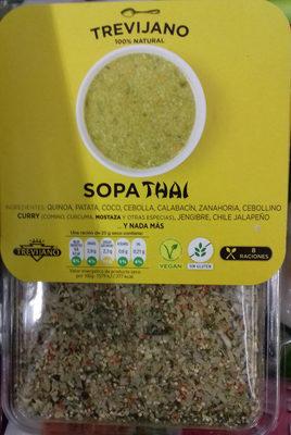 Sopa Thai - Producto