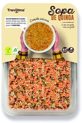 Sopa de quinoa deshidratada - Producto - es